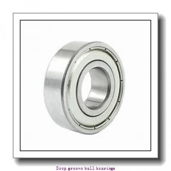 4 mm x 11 mm x 4 mm  skf W 619/4 Deep groove ball bearings #1 image