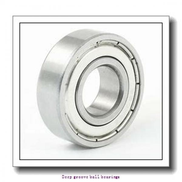 8 mm x 19 mm x 6 mm  skf W 619/8 Deep groove ball bearings #2 image