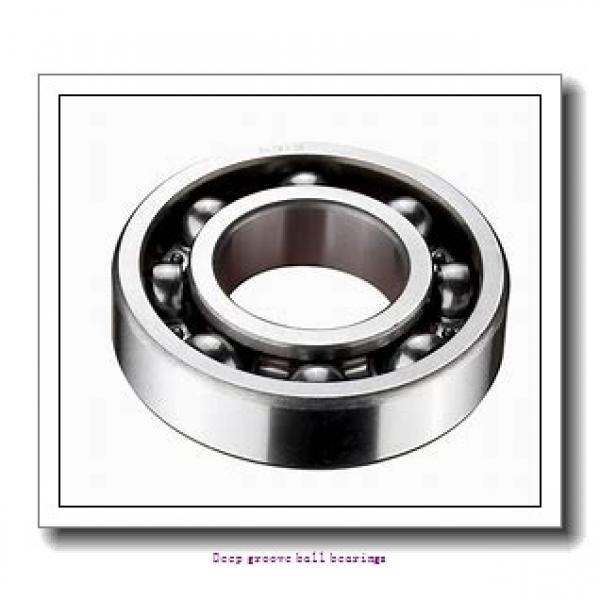 25 mm x 52 mm x 15 mm  skf 6205 Deep groove ball bearings #2 image