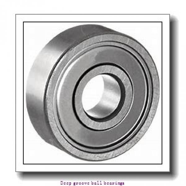 40 mm x 80 mm x 18 mm  skf 208-2ZNR Deep groove ball bearings #2 image