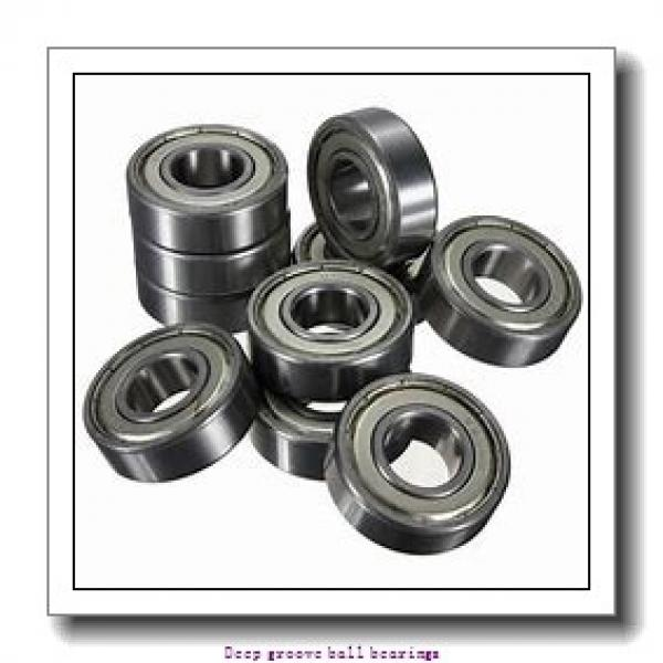 4 mm x 16 mm x 5 mm  skf W 634 Deep groove ball bearings #1 image