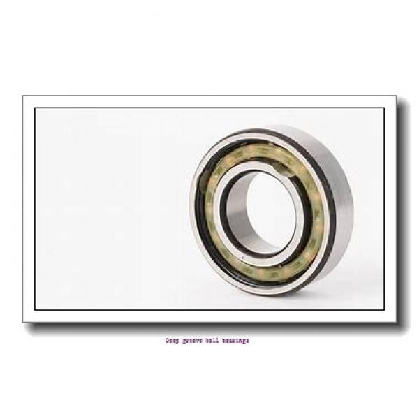 60 mm x 110 mm x 22 mm  skf 6212 Deep groove ball bearings #2 image