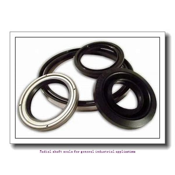 skf 42X55X8 HMS5 V Radial shaft seals for general industrial applications #2 image