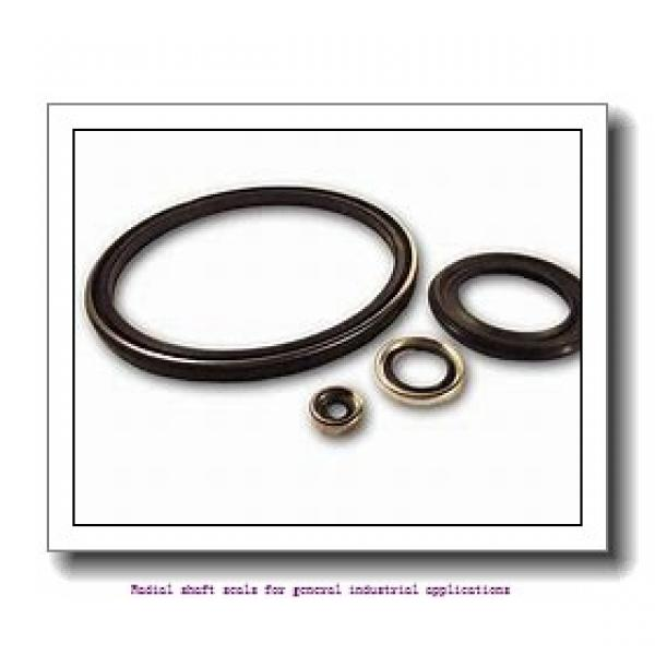skf 28X45X7 CRW1 V Radial shaft seals for general industrial applications #1 image