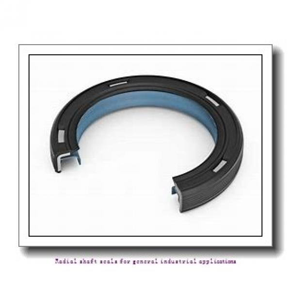 skf 40X70X8 CRW1 R Radial shaft seals for general industrial applications #1 image