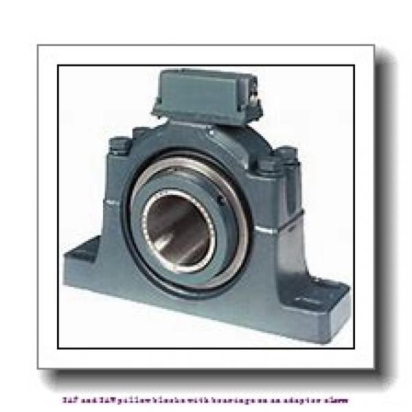 skf SSAFS 23024 KATLC x 4 SAF and SAW pillow blocks with bearings on an adapter sleeve #2 image