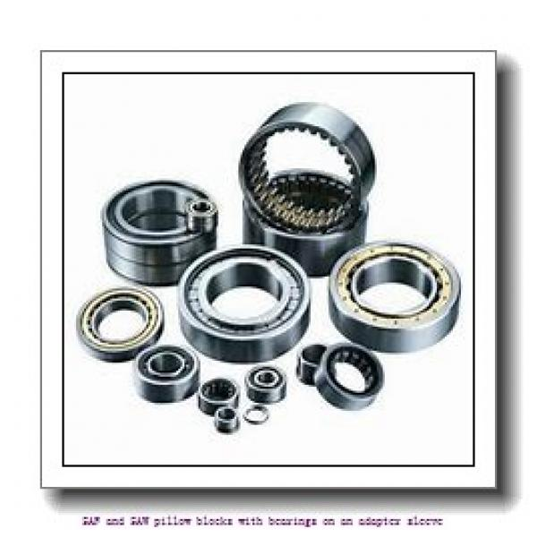 skf SAFS 23026 KAT x 4.7/16 SAF and SAW pillow blocks with bearings on an adapter sleeve #1 image
