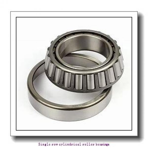 90 mm x 160 mm x 30 mm  NTN NUP218 Single row cylindrical roller bearings #2 image