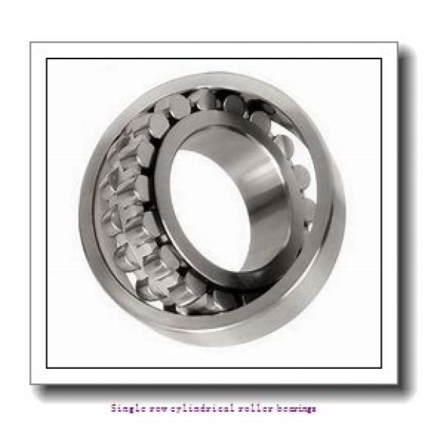 30 mm x 72 mm x 27 mm  NTN NUP2306ET2XU Single row cylindrical roller bearings #1 image