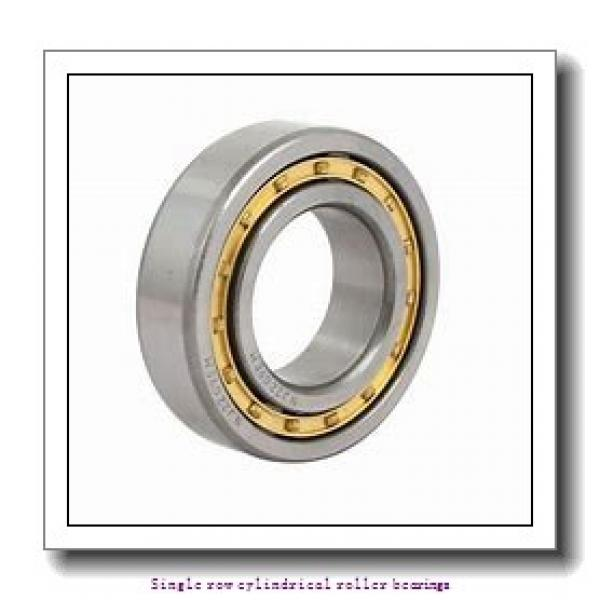 90 mm x 160 mm x 30 mm  NTN NUP218 Single row cylindrical roller bearings #1 image