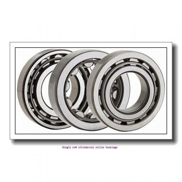 35 mm x 80 mm x 31 mm  NTN NUP2307ET2X Single row cylindrical roller bearings #1 image