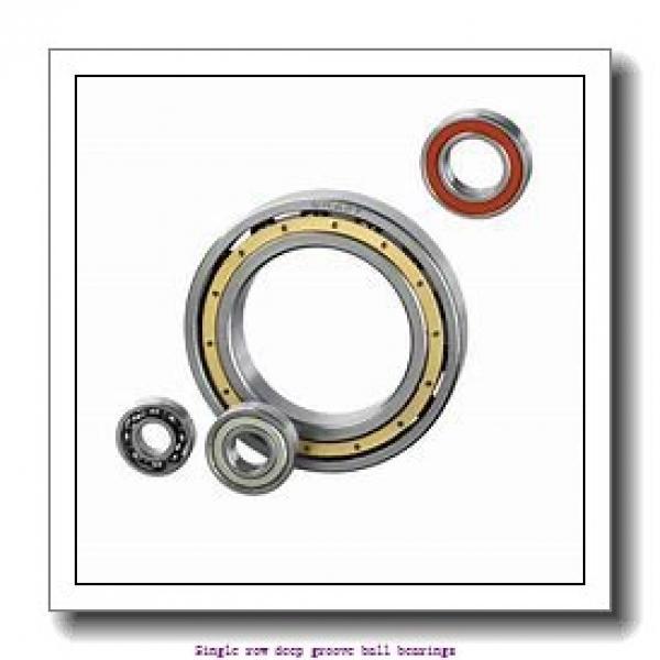 50 mm x 80 mm x 16 mm  NTN 6010ZC3 Single row deep groove ball bearings #1 image