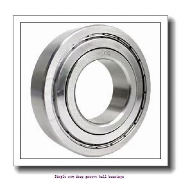 55 mm x 90 mm x 18 mm  NTN 6011ZZ/2A Single row deep groove ball bearings #1 image