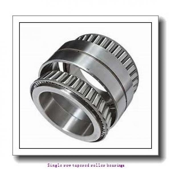 41,275 mm x 93,662 mm x 31,75 mm  NTN 4T-46162/46368 Single row tapered roller bearings #1 image