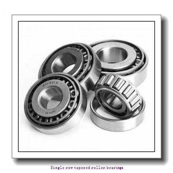 44.45 mm x 95.25 mm x 29.9 mm  NTN 4T-438/432A Single row tapered roller bearings #2 image