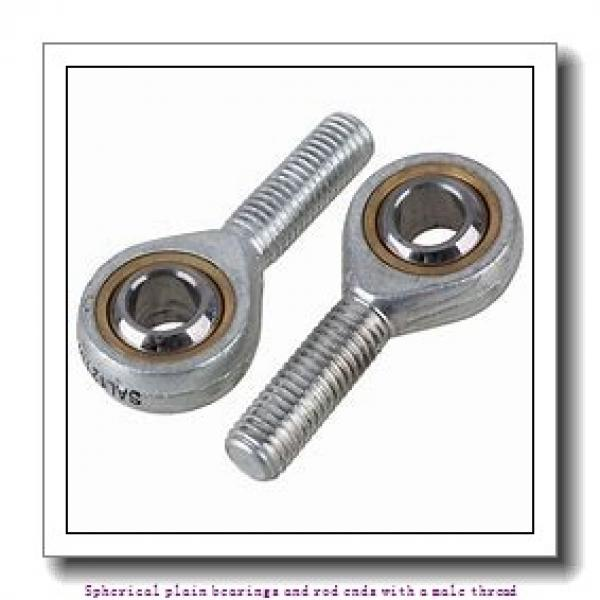 skf SA 12 C Spherical plain bearings and rod ends with a male thread #1 image
