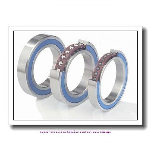 55 mm x 80 mm x 13 mm  skf S71911 ACB/HCP4A Super-precision Angular contact ball bearings #1 image
