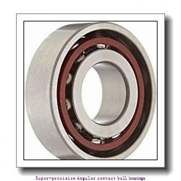 40 mm x 80 mm x 18 mm  skf 7208 ACD/P4A Super-precision Angular contact ball bearings #1 image