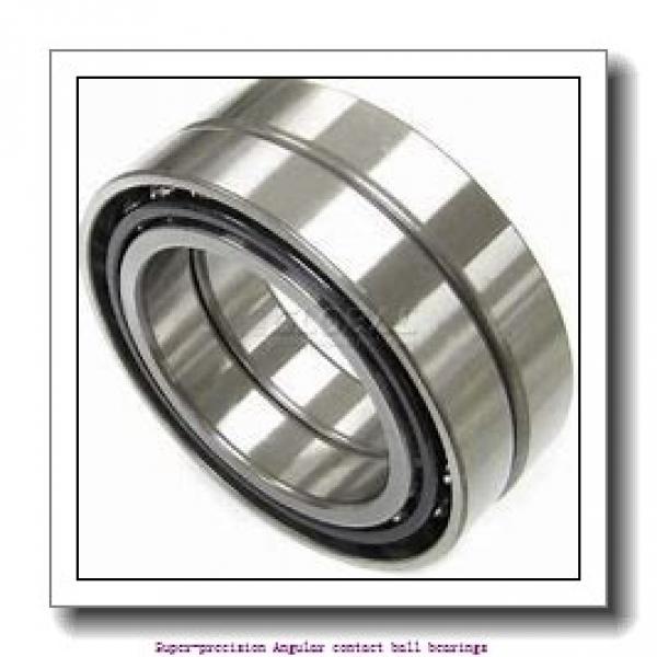 25 mm x 47 mm x 12 mm  skf 7005 CE/P4A Super-precision Angular contact ball bearings #1 image
