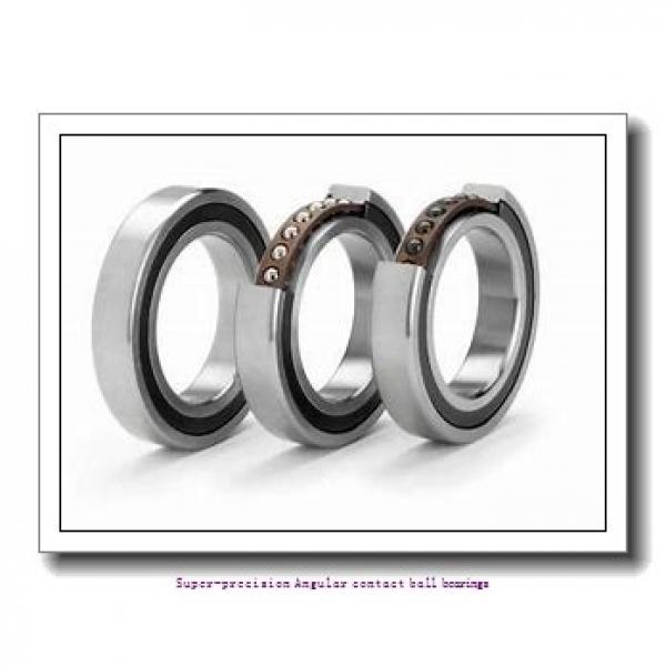 160 mm x 240 mm x 38 mm  skf 7032 CD/P4AH1 Super-precision Angular contact ball bearings #1 image