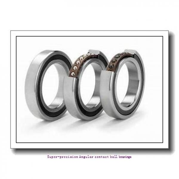 75 mm x 105 mm x 16 mm  skf 71915 CB/P4A Super-precision Angular contact ball bearings #1 image