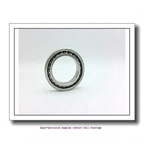45 mm x 85 mm x 19 mm  skf S7209 CD/P4A Super-precision Angular contact ball bearings #1 image