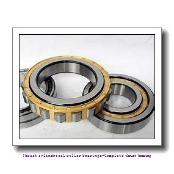 NTN 89314 Thrust cylindrical roller bearings-Complete thrust bearing #2 image