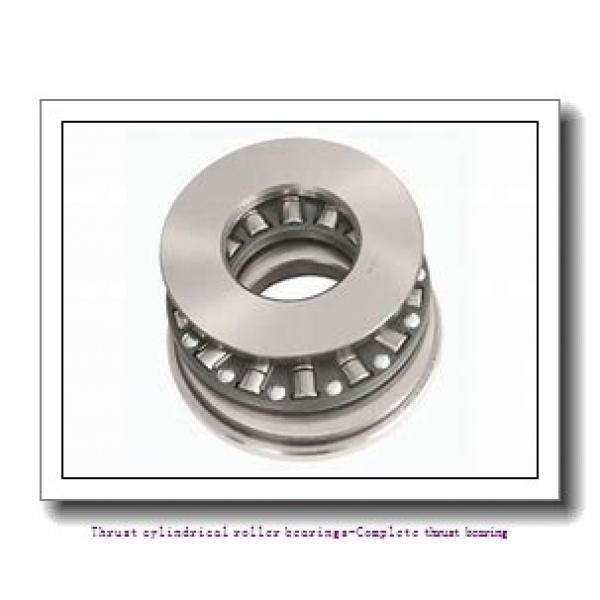 NTN 89317 Thrust cylindrical roller bearings-Complete thrust bearing #2 image