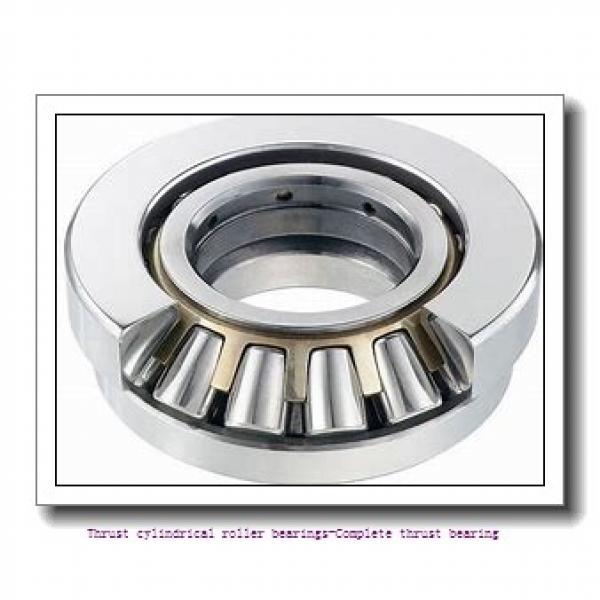 NTN 89316 Thrust cylindrical roller bearings-Complete thrust bearing #2 image