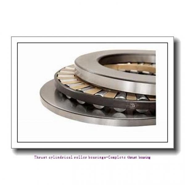 100 mm x 170 mm x 14.5 mm  NTN 89320L1 Thrust cylindrical roller bearings-Complete thrust bearing #1 image