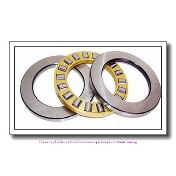 NTN 81117T2 Thrust cylindrical roller bearings-Complete thrust bearing #1 image