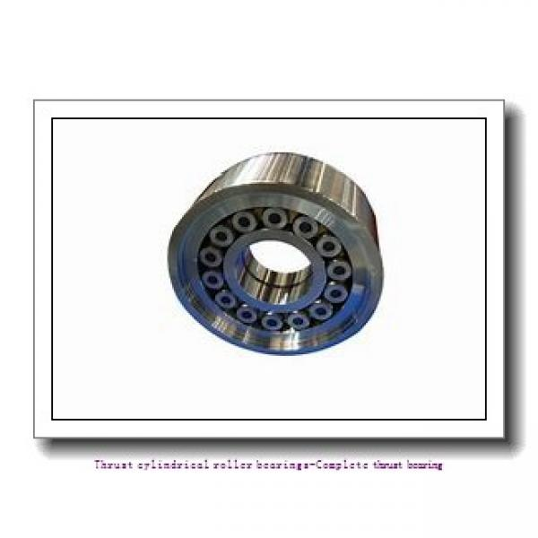 NTN 81114T2 Thrust cylindrical roller bearings-Complete thrust bearing #2 image