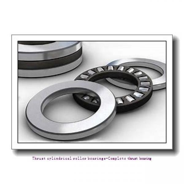 NTN 89312 Thrust cylindrical roller bearings-Complete thrust bearing #1 image