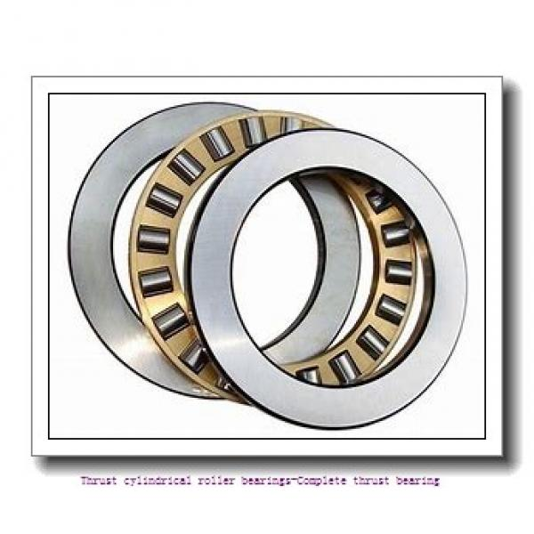 NTN 89317 Thrust cylindrical roller bearings-Complete thrust bearing #1 image